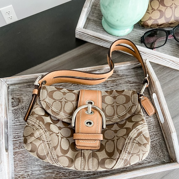 Coach Signature Purse from Holt Renfrew
